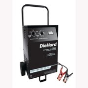 Schumacher Electric DH-200M Battery Charger Wheeled DieHard 6/12 Volt, Manual, 40/10/2 Amp Charge