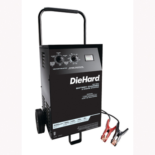 12 Volt Battery Charger Walmart >> Schumacher Electric DH-200M Battery Charger Wheeled ...