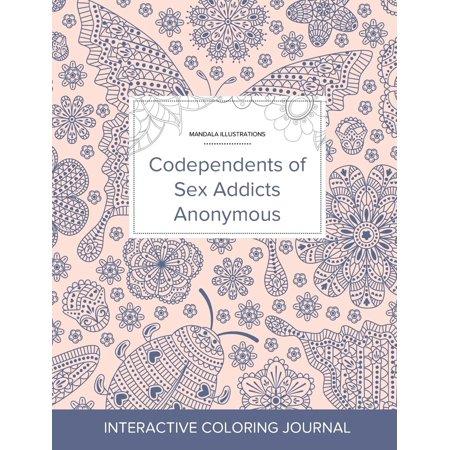 Adult Coloring Journal: Codependents of Sex Addicts Anonymous (Mandala Illustrations, Ladybug) (Paperback) (Sex Addicts Anonymous Green Book)