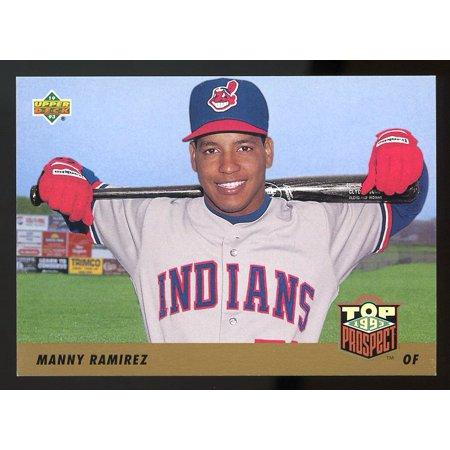1993 upper deck #433 MANNY RAMIREZ cleveland indians TOP PROSPECTS ()