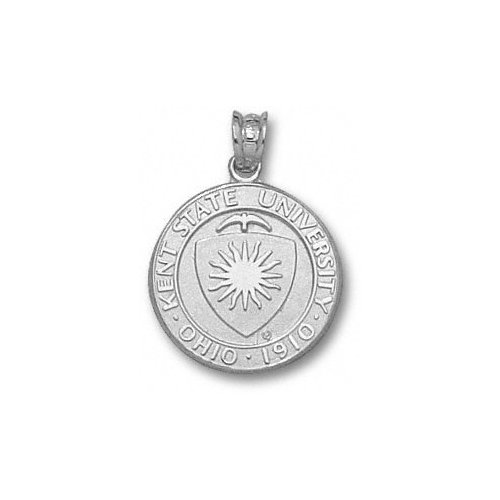 NCAA - Kent State Golden Flashes Sterling Silver Seal Pendant
