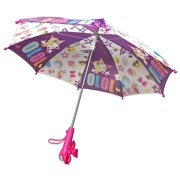JoJo Siwa Little Girls Kids Light Umbrella Rain Pink Toddler School Gift Toy