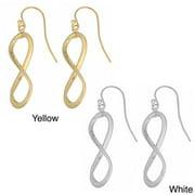 Fremada  10k Gold Infinity Dangle Earrings