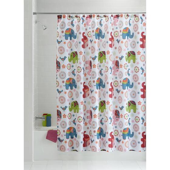 Discontinued Mainstays 13 Piece Shower Set Elephant
