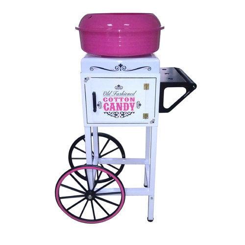 "Nostalgia Electrics CCM510 38"" Tall Vintage Collection Commercial Cotton Candy Cart"
