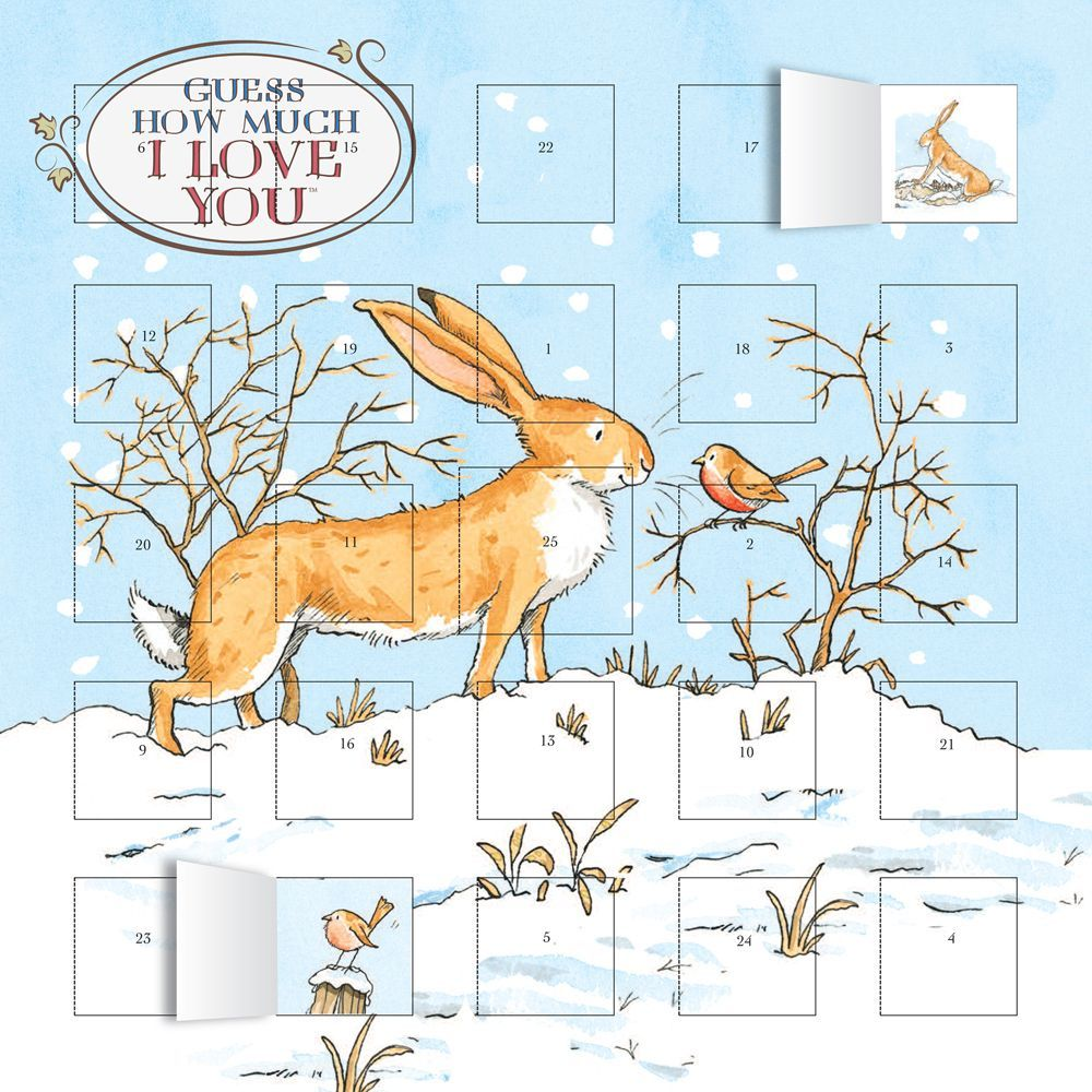 Guess How Much I Love You Advent, Advent Calendars by Flame Tree Publishing