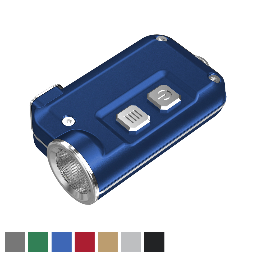 NITECORE TINI 380 Lumen Super Small USB Rechargeable LED Keychain Flashlight (Black)