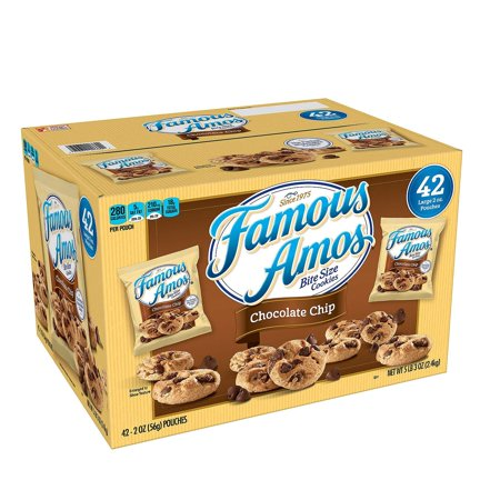 Chocolate Chip Cookies. (42 ct.), Perfect snack size for vending, daycares, and foodservice By Famous Amos](Halloween Snacks For Kindergarteners)
