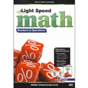 Light Speed Math: Numbers & Operations by