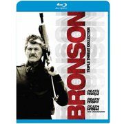 Bronson Triple Threat Collection: Death Wish 2   Death Wish 3   Death Wish 4: The Crackdown (Blu-ray) by Mgm