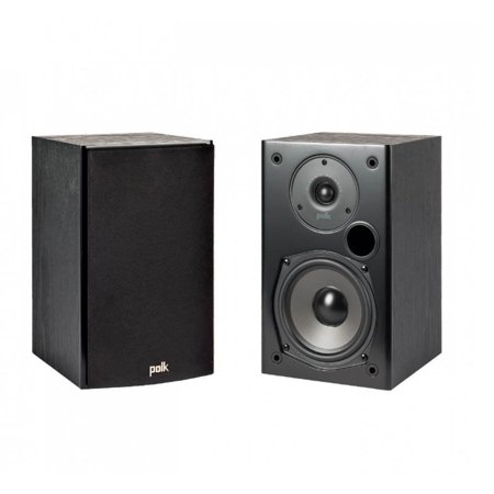 Polk Audio T15 Home Theater and Music Bookshelf Audio Stereo Speakers,