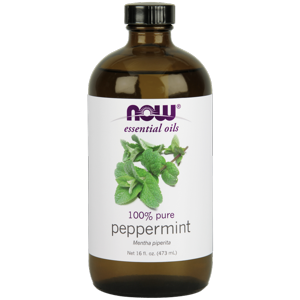 NOW Peppermint Oil, 16 Oz