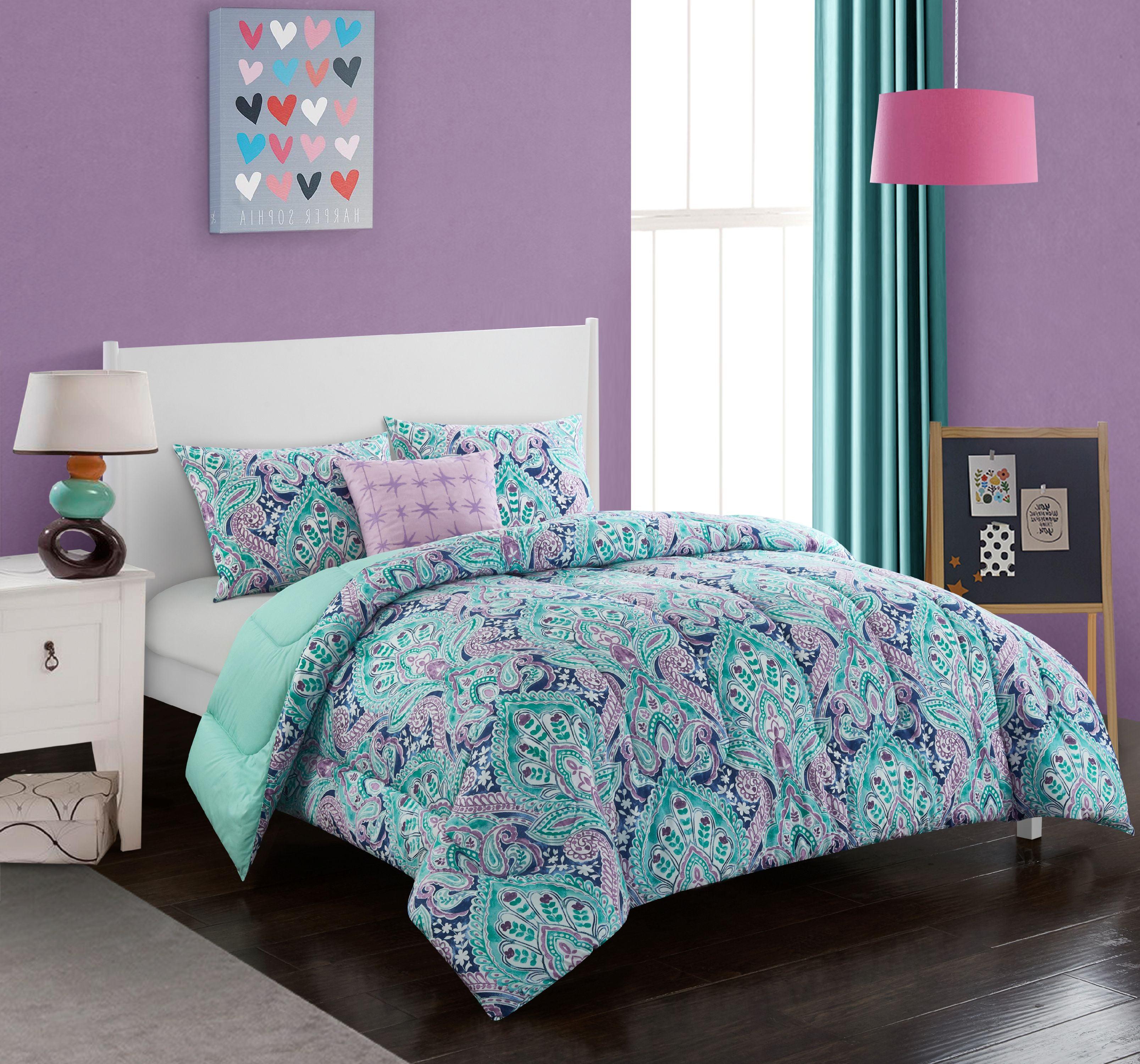 Better Homes & Gardens Fanning Floral Comforter Set