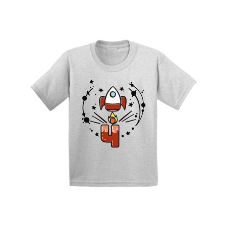 Awkward Styles Birthday Gift for 4 Year Old Kids Toddler Rocket Space Shirts 4th Birthday Party Space Themed Space Shirt Rocket Shirt Little Spacehip Birthday Boy Birthday Girl](4 Year Old Birthday Party Themes)
