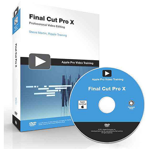 Final Cut Pro X Quick-Reference Guide [With DVD ROM]