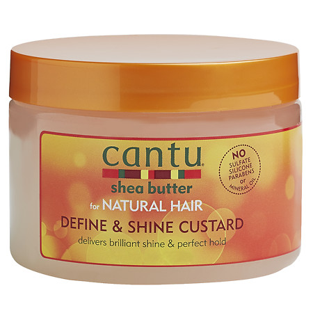 Cantu Shea Butter for Natural Hair Curling Custard 12.0 oz.(pack of 2)