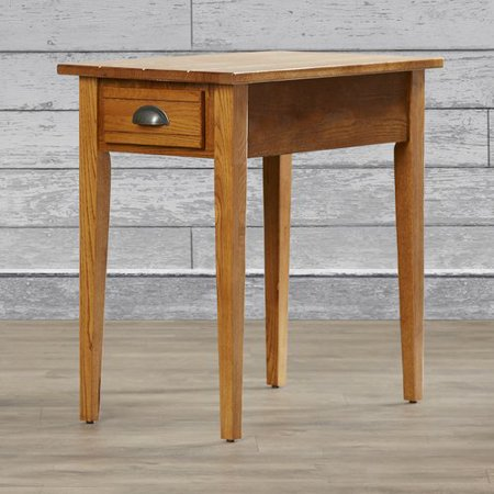 Charlton Home Apple Valley Chairside End Table