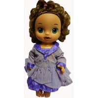 Doll Clothes Superstore Fancy Purple Party Dress Fits Baby Alive And Little Baby Dolls