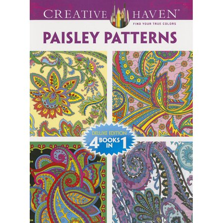 Creative Haven Coloring Books: Creative Haven Paisley Patterns ...