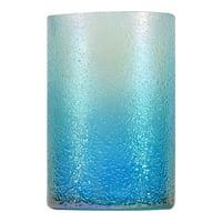 Mainstays Iridescent Vase-Blue
