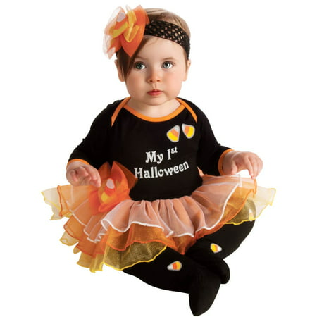 My First Halloween Baby Costume](Halloween Costume Baby On Grandma's Back)