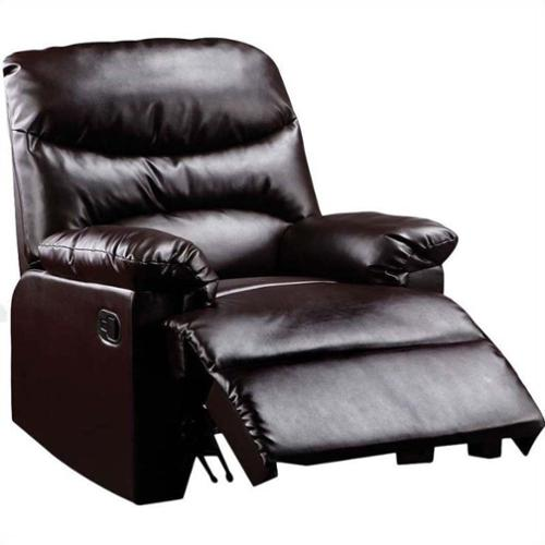 ACME Furniture Arcadia Recliner in Cracked Brown