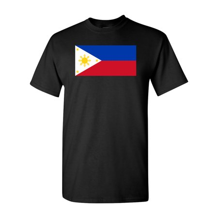 Country Flags T-shirt - Philippines Country Flag Adult DT T-Shirt Tee
