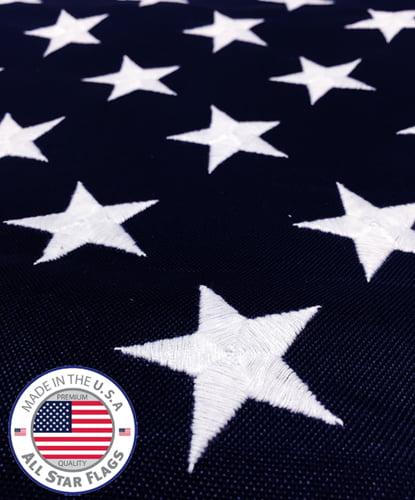 HEAVY-DUTY American Flag 4x6
