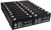 SPS Brand 6 V 3.2 Ah Replacement Battery with Terminal T1 for Siemens 341 (20 PACK) by