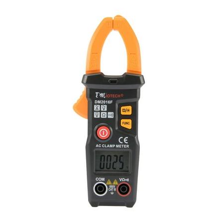 DM2016F Digital Clamp Meter Multimeter AC DC Current Volt Tester Resistance