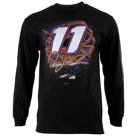 Denny Hamlin   11 Gear Up Adult Long Sleeve T Shirt