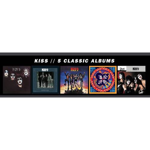 5 Classic Albums (5 Disc Box Set)