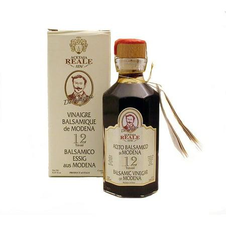 Acetaia Reale 12 Year Aged Balsamic Vinegar - 8.5 fl oz (250mL) Italian Acetified Grape Must
