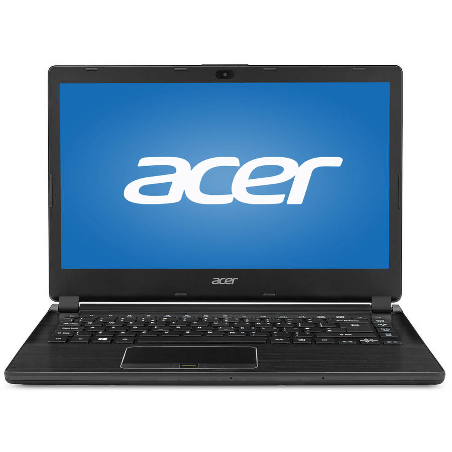 "Acer Black 14"" TravelMate P446 TMP446M77QP Laptop PC with Intel Core i7-5500U Processor, 8GB Memory,... by Acer"