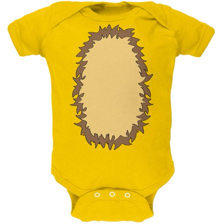 Halloween Lion Costume Soft Baby One Piece - Lion King Halloween Costumes For Babies