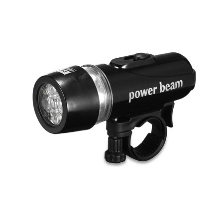 Front Lamp - Waterproof Bike Light Bicycle Front 5 LED Light Head Lamp + Rear Safety Flashlight