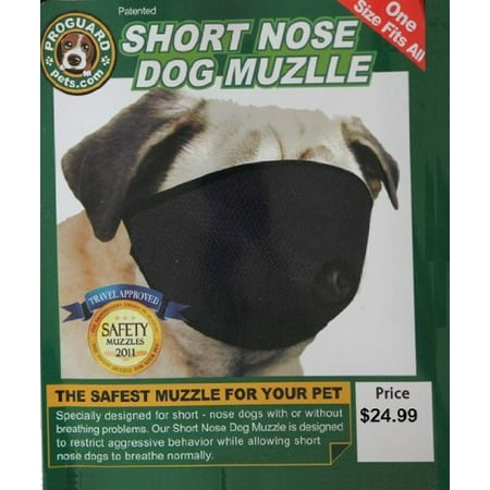 Mesh Dog Muzzle for Short Nose - Flat Faced Dogs, (pug muzzle) one size Fits All](Dog Face Paint)