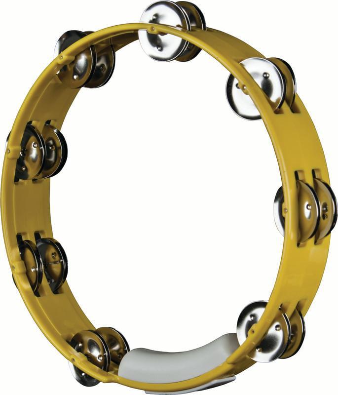 "Rhythm Tech TC4050 True Colors 10"" Tambourine Yellow by Rhythm Tech"