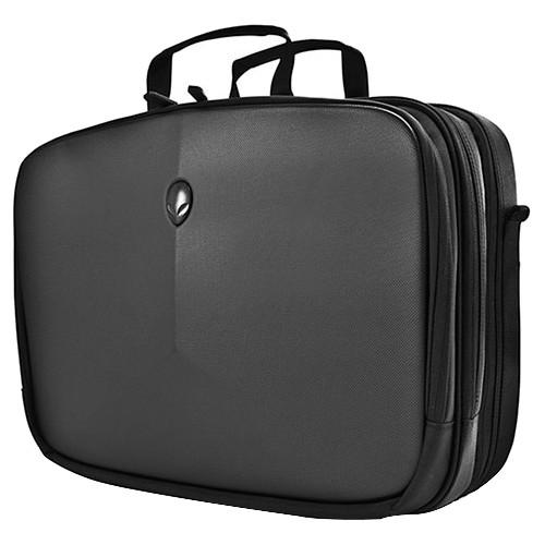 "Mobile Edge Alienware Vindicator Carrying Case [briefcase] For 17.1"" Notebook - Black - Weather Resistant, Scratch Proof - Nylon - Alien Head Logo - Checkpoint Friendly (awvbc17)"