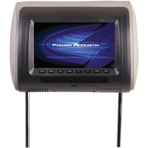 "Power Acoustik H-71CC 7"" Universal Headrest Monitor"