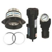 EXAIR 120222 Air Amplifier Kit,2 In Inlet,15.5 CFM