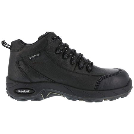 22ceaab6c1d4 Reebok Work Mens Tiahawk Safety Toe Work Boots Leather - image 1 of 2 ...