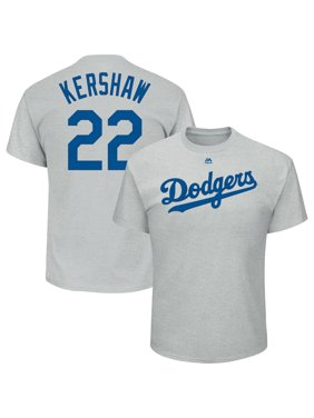 baf6f925f7b Product Image Clayton Kershaw Los Angeles Dodgers Majestic Name   Number T- Shirt - Gray