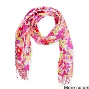 In Things Corp Saachi Women's Floral Watercolor Scarf (India)