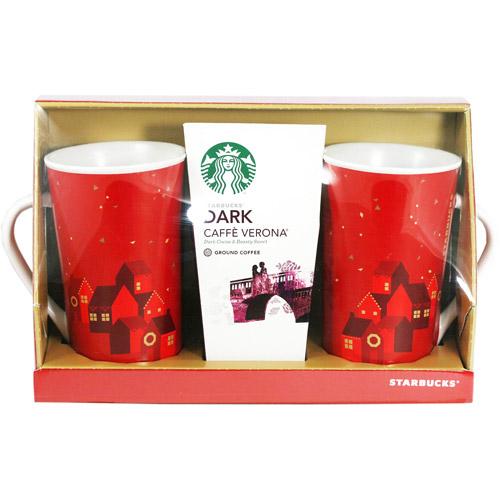Starbucks Coffee and Mugs Gift Set, 3 pc