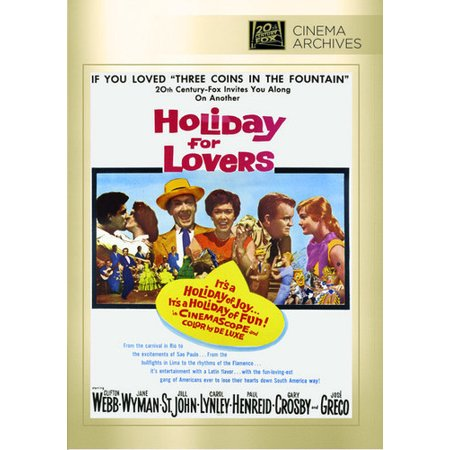 Holiday For Lovers (DVD)](Mr Lover Lover)