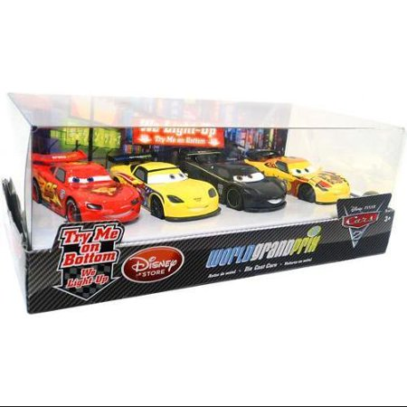 Disney Cars Light Up World Grand Prix Diecast Car Set [Set #1] - Walmart.com