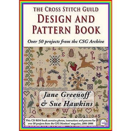 The Cross Stitch Guild Design and Pattern Book: With Over 50 Projects from the CSG Archive (CD-ROM) - The Guild Halloween