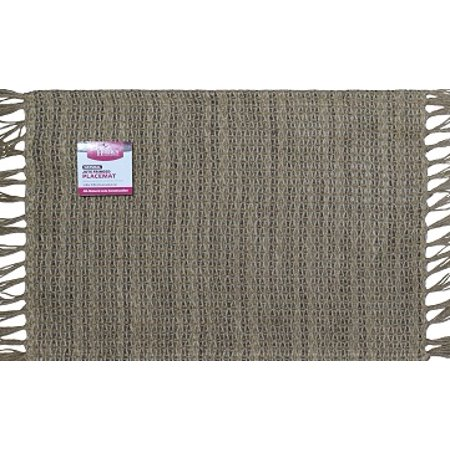 Better Homes And Gardens Natural Fringed Jute Placemat