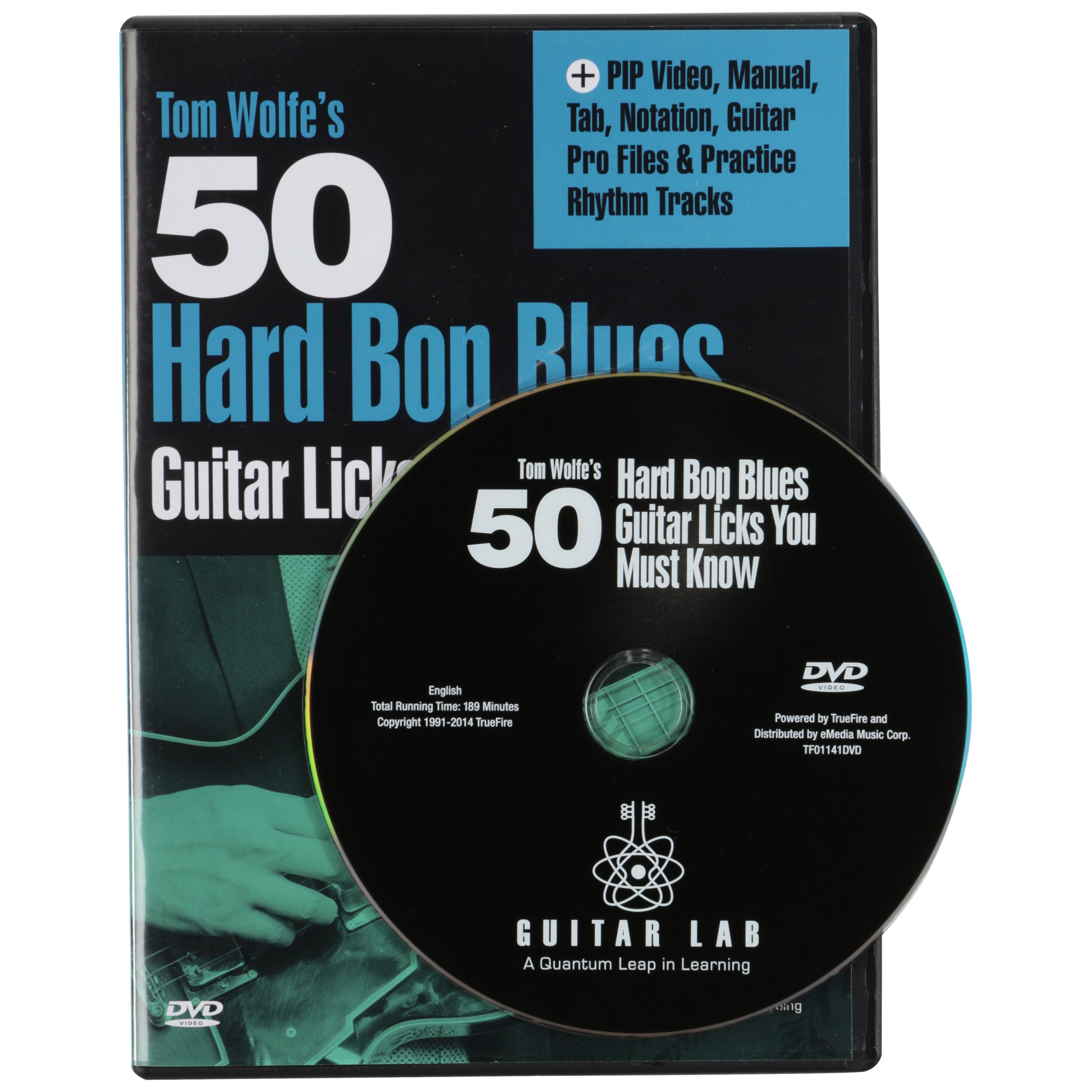 Guitar Lab Tom Wolfe's 50 Hard Bop Blues Instructional DVD